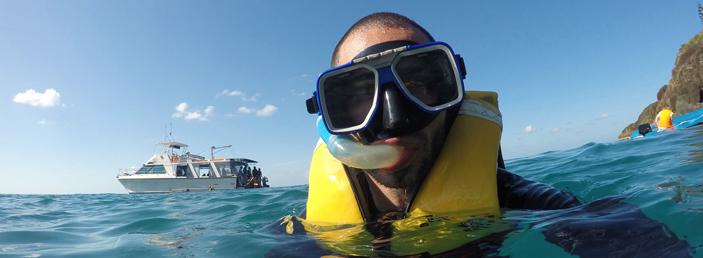 mergulho livre em fernando de noronha