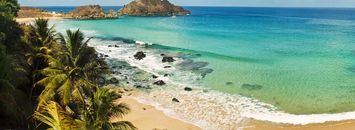 praias para visitar a dois